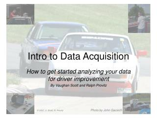 Intro to Data Acquisition