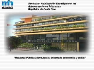 Hacienda P blica activa para el desarrollo econ mico y social