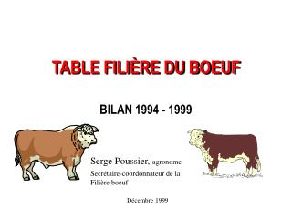TABLE FILI RE DU BOEUF