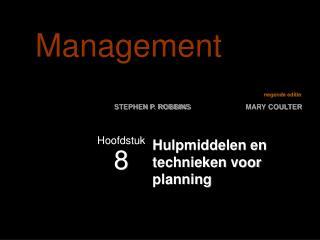 Hulpmiddelen en technieken voor planning