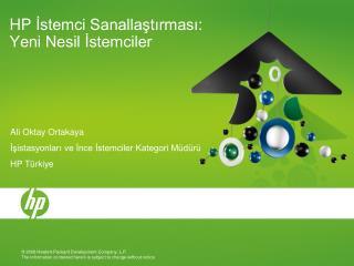 HP Istemci Sanallastirmasi: Yeni Nesil Istemciler