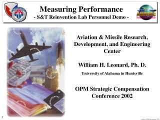 Measuring Performance - ST Reinvention Lab Personnel Demo -