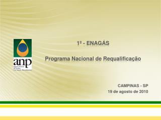 1  - ENAG S  Programa Nacional de Requalifica  o