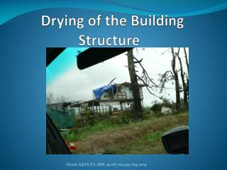 Drying of the Building Structure