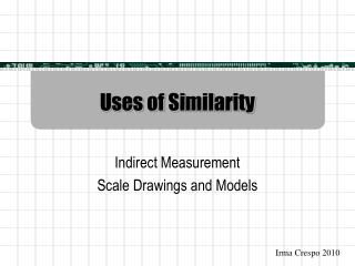 Uses of Similarity