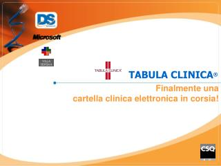 TABULA CLINICA
