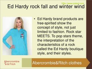 Ed Hardy rock fall and winter wind