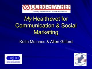 My Healthevet for Communication  Social Marketing