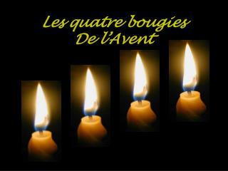 Les quatre bougies De l Avent