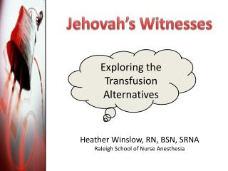 Jehovah s Witnesses