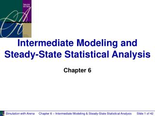 Intermediate Modeling and Steady-State Statistical Analysis