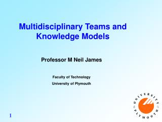 Multidisciplinary Teams and Knowledge Models