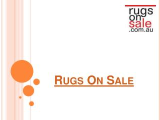 Rugs On Sale