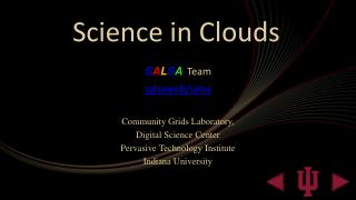 Science in Clouds