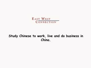 1 Month Chinese - Study in China Programs from 1 Month to 1