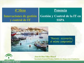 Ponencia Gesti n y Control de la IT en  SSPA