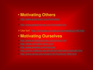 Motivating Others accel-team