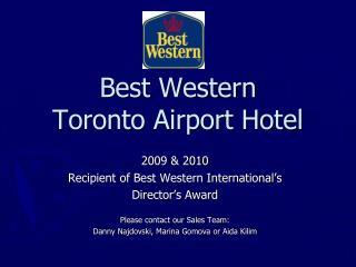 Best Western  Toronto Airport Hotel