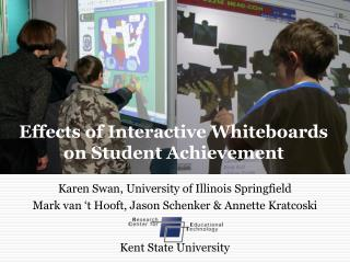 Effects of Interactive Whiteboards  on Student Achievement