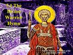 5.1 The Divine Warrior Hymn