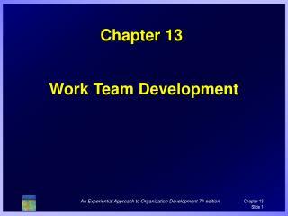Work Team Development