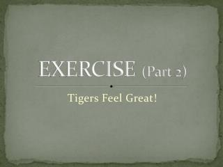 EXERCISE Part 2