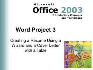 Word Project 3