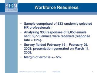 Workforce Readiness