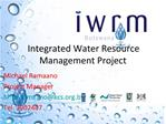 Integrated Water Resource Management Project