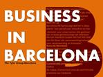 Business in Barcelona, The Tyler Group Barcelona