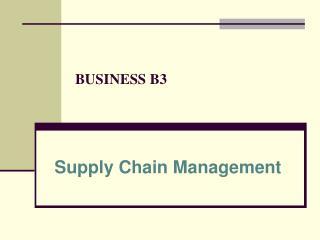 BUSINESS B3