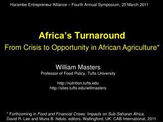 Africa s Turnaround