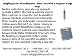 Weighing Scales Manufacturers