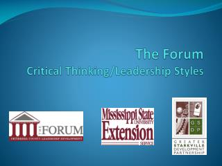 The Forum Critical Thinking