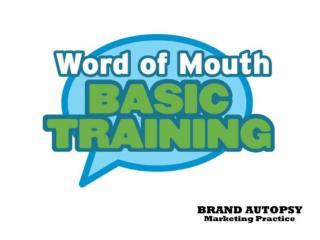 WOM Basic Training