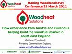 Matthew Woodcock Forestry Commission England woodheatsolutions.eu