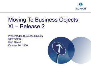 Moving To Business Objects  XI   Release 2