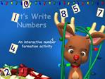 Let s Write Numbers