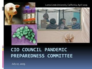 CIO Council Pandemic Preparedness Committee