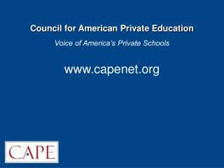 Council for American Private Education