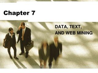 DATA, TEXT, AND WEB MINING