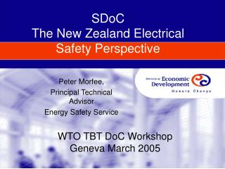SDoC The New Zealand Electrical Safety Perspective