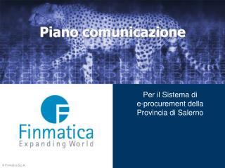 Piano comunicazione