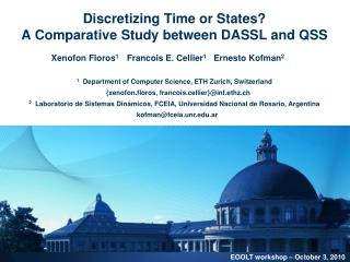 Discretizing Time or States A Comparative Study between DASSL and QSS