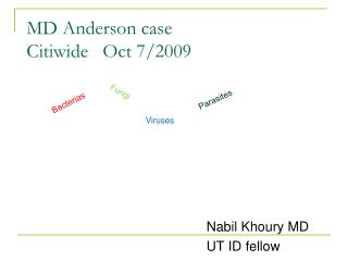 MD Anderson case Citiwide   Oct 7
