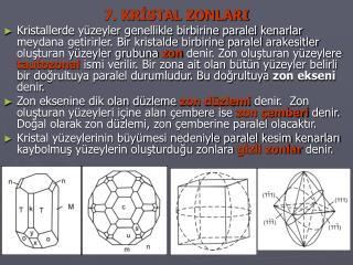 7. KRISTAL ZONLARI