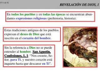 REVELACI N DE DIOS, 1