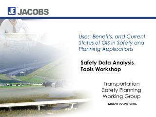 Safety Data Analysis Tools Workshop