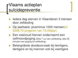 Vlaams actieplan su cidepreventie