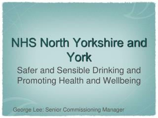 NHS North Yorkshire and York